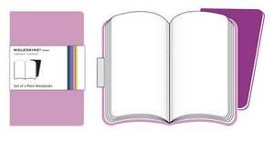 Moleskine Volant Extra Large Plain Pink Magenta & Magenta