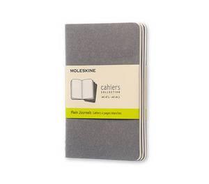 Moleskine Pebble Grey Plain Cahier Pocket Journal