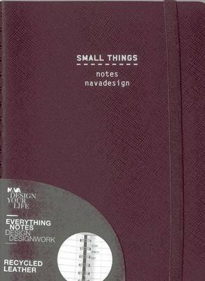 Small Things, Ring Bound, Violet: Ruled Pages
