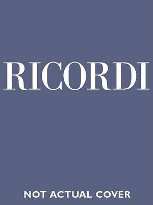 Juditha Triumphans Devicta Holofernis Barbarie RV 644: Sacrum Militare Oatorium - Critical Edition by Michael Talbot Full Score