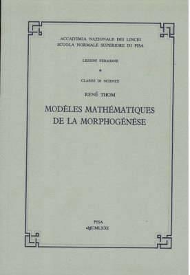Mod Les Math Matiques de La Morphog N Se