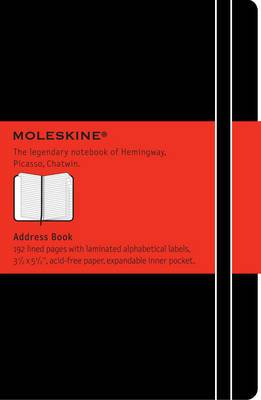 Moleskine Pocket Address-Book