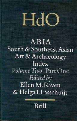 Abia: South and Southeast Asian Art and Archaeology Index: Vol 2