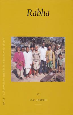 Languages of the Greater Himalayan Region: Volume 1: Rabha