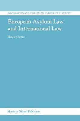 European Asylum Law and International Law