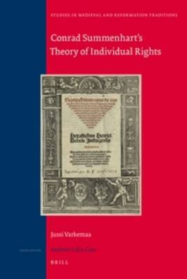 Conrad Summenhart's Theory of Individual Rights