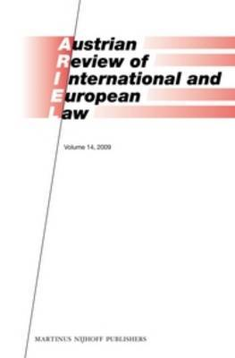 Austrian Review of International and European Law: 2009: Volume 14