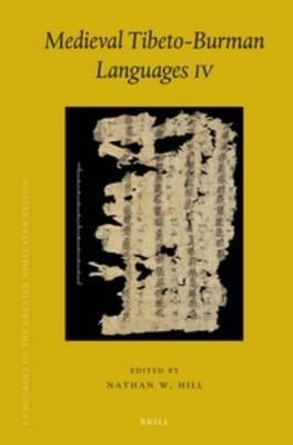 Medieval Tibeto-Burman Languages IV
