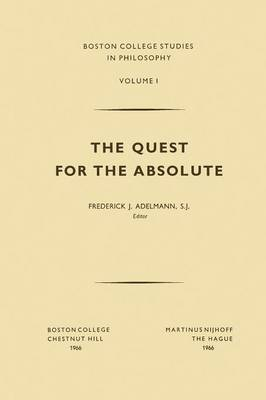 The Quest for the Absolute