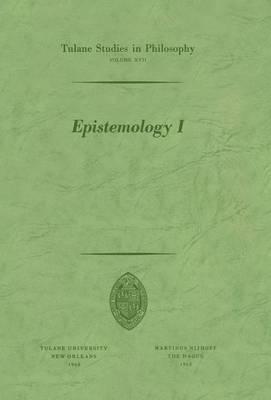 Epistemology I