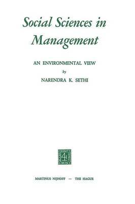 Social Sciences in Management: An Environmental View