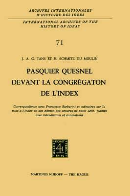 Temporary Title 19991103: Correspondance Avec FranÇOis Barberini Et mÉMoires Sur La Mise À l'Index De Son