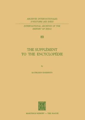 The Supplement to the Encyclopedie