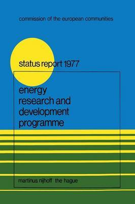 Energy Research and Development Programme: First Status Report (1975-1976)