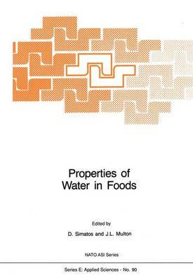 Properties of Water in Foods: in Relation to Quality and Stability
