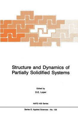 Structure and Dynamics of Partially Solidified Systems