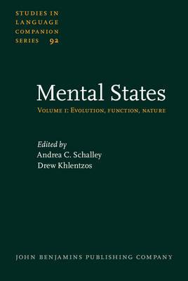 Mental States: Volume 1: Evolution, function, nature