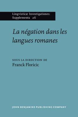 La Negation Dans Les Langues Romanes
