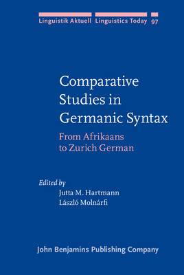 Comparative Studies in Germanic Syntax