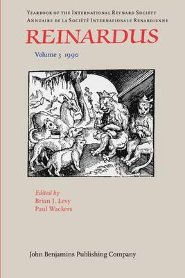 Reinardus: Yearbook of the International Reynard Society. Volume 3 (1990)