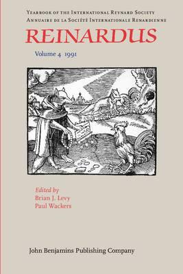 Reinardus: Yearbook of the International Reynard Society: Vol 4