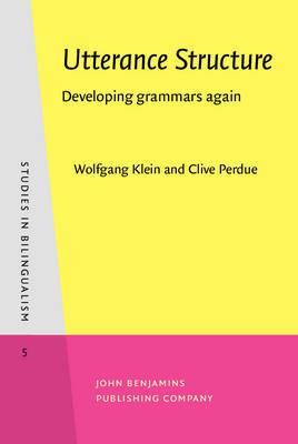 Utterance Structure: Developing grammars again