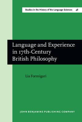 Language and Experience in Seventeenth-century British Philosophy