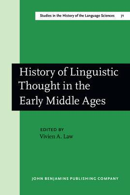 History of Linguistic Thought in the Middle Ages