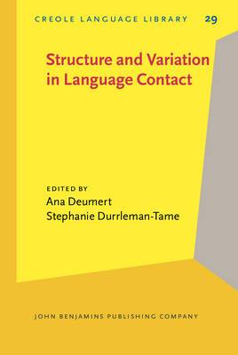 Structure and Variation in Language Contact