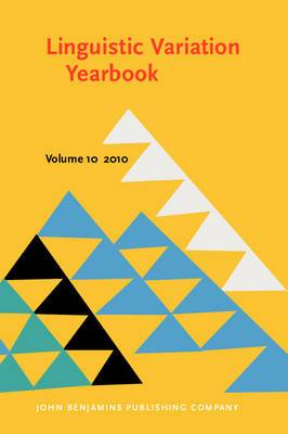 Linguistic Variation Yearbook 2010