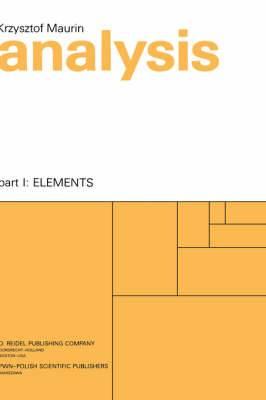 Analysis: Pt. 1: Elements