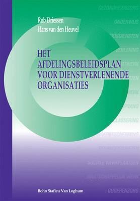 Het Afdelingsbeleidsplan Voordienstverlenende Organisaties