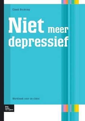 Niet Meer Depressief: Werkboek Voor de Client