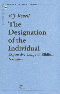 The Designation of the Individual: Expressive Usage in Biblical Narrative