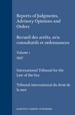Reports of Judgments, Advisory Opinions and Orders / Recueil des arrets, avis consultatifs et ordonnances, Volume 1 (1997)