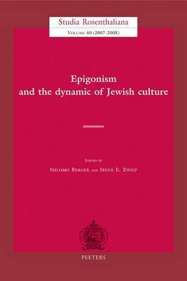 Epigonism and the Dynamic of Culture