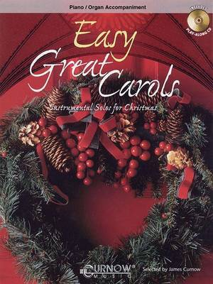 Easy Great Carols, Piano/Organ Accompaniment: Instrumental Solos for the Intermediate Soloist