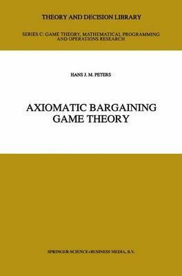 Axiomatic Bargaining Game Theory