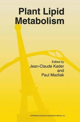 Plant Lipid Metabolism