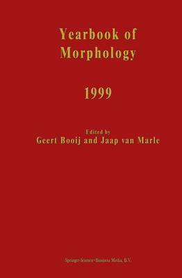 Yearbook of Morphology: 1999