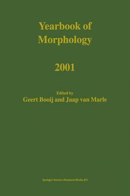 Yearbook of Morphology: 2001