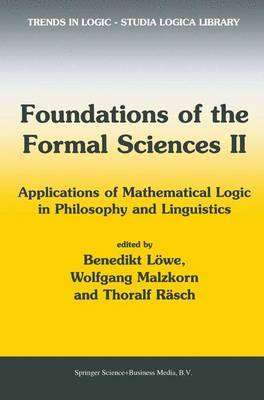 Foundations of the Formal Sciences II: No. 2