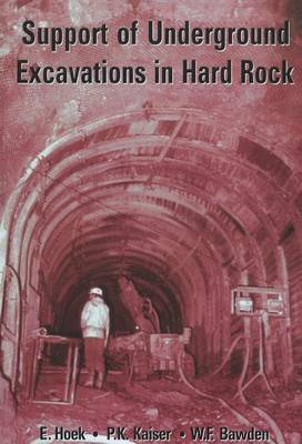 Support of Underground Excavations in Hard Rock