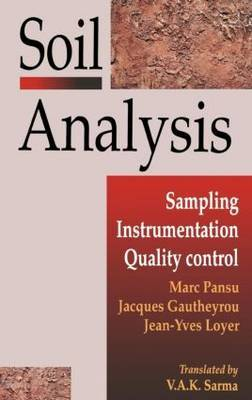 Soil Analysis: Sampling, Instrumentation and Quality Control