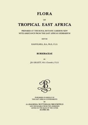 Flora of Tropical East Africa - Burseraceae (1991): Burseraceae