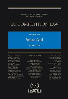 EU Competition Law, Volume 4: State Aid