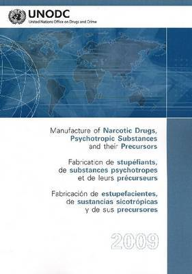 Manufacture of Narcotic Drugs, Psychotropic Substances and Their Precursors: List of National Manufacturers Authorized to Manufacture or Convert Specific Narcotic Drugs and Psychotropic Substances and of the Substances Actually Manufactured or Converted b