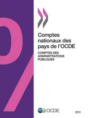 Comptes Nationaux Des Pays de L'Ocde, Comptes Des Administrations Publiques 2012