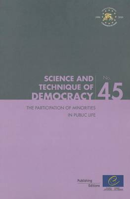 Participation of Minorities in Public Life (Science and Technique of Democracy No. 45) (2011)