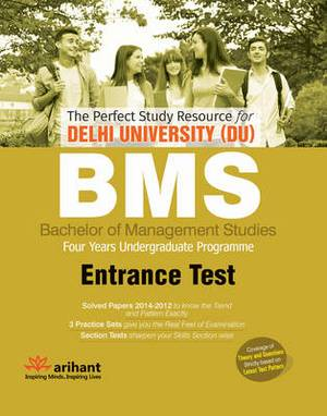 The Perfect Study Resource for - Delhi University (DU) BMS: Common Entrance Test